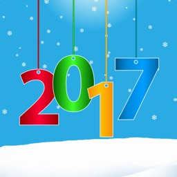 Happy New Year 2017 Hats, Glasses and Stickers