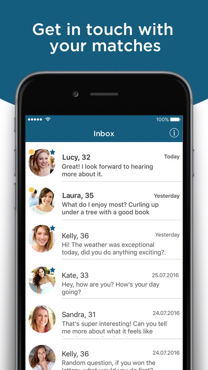 eDarling - Intelligent Dating screenshot-3