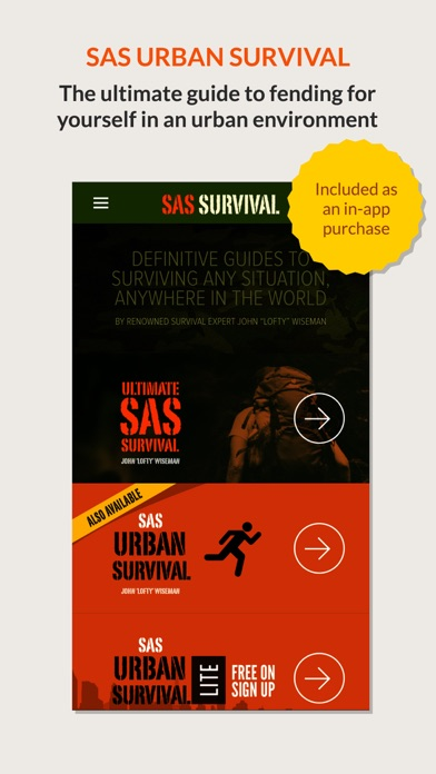 Screenshot for SAS Survival Guide in Jordan App Store