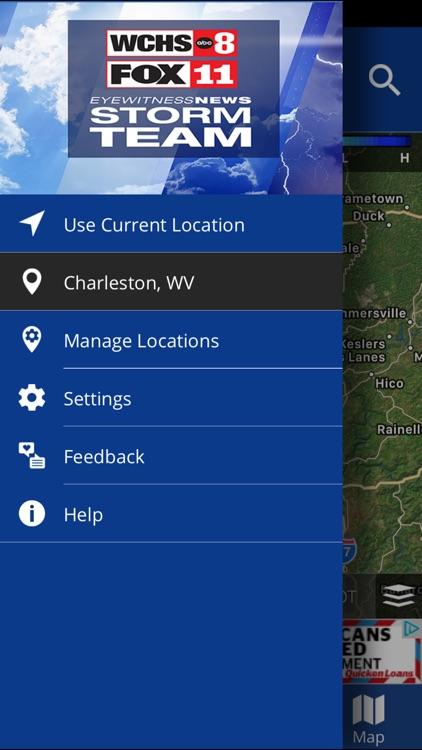 WCHS/Fox11 Stormteam Weather App screenshot-4