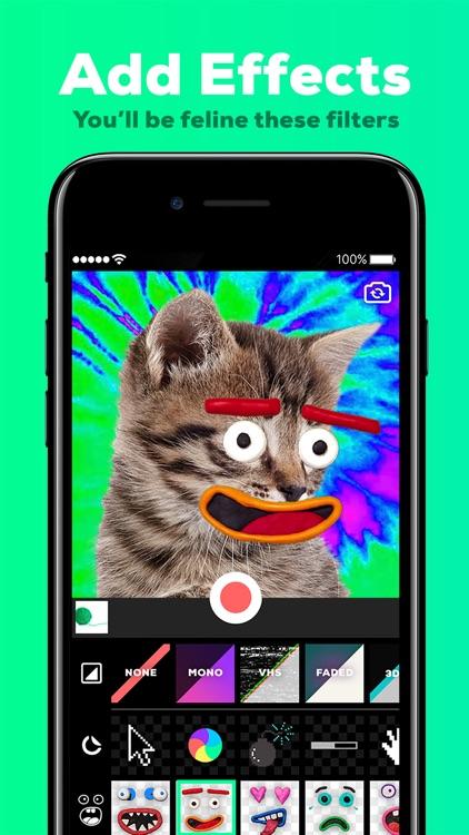 GIPHY Cam for iMessage. The GIF Creator screenshot-0