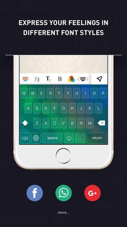 Font Keyboard & Bling Font.s