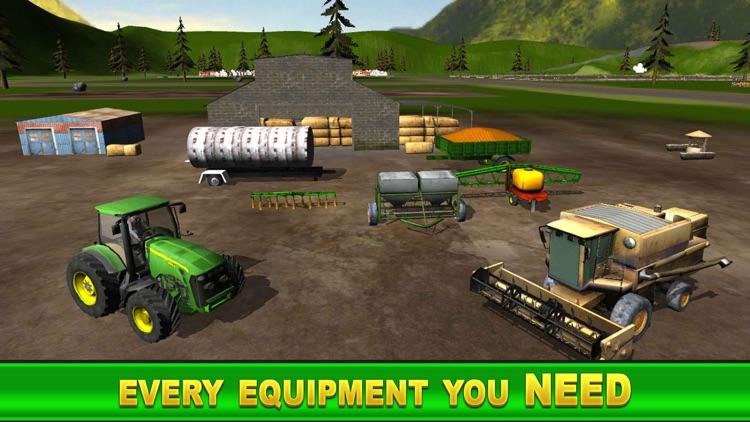 Farm Tractor Simulator : Village Life Farmer screenshot-4