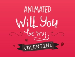 Animated Be My Valentines Stickers for iMessage