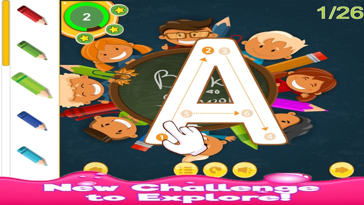 ABC Tracing Alphabet Learning for Kids