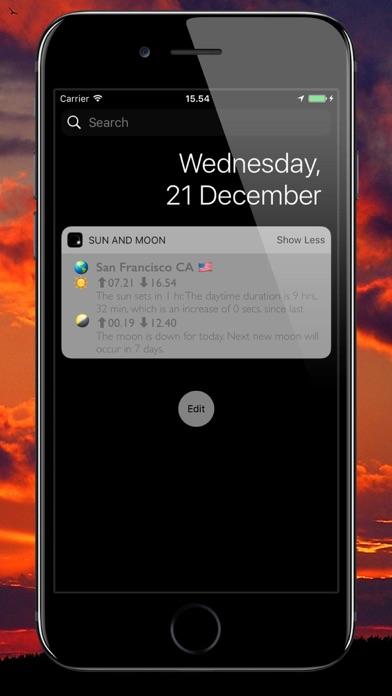 Screenshot #3 pour Soleil et Lune 3D Planétarium