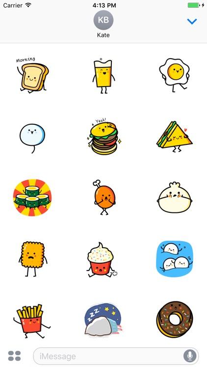 Animated Food