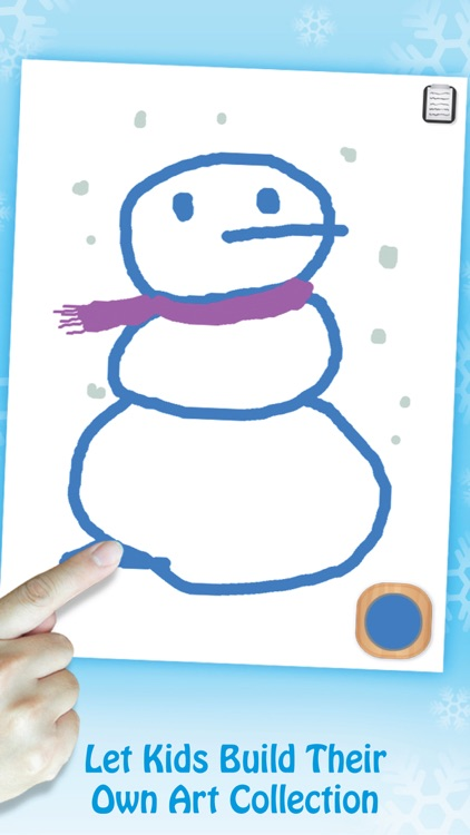 Paint & Play Christmas, Coloring Book For Kids screenshot-2