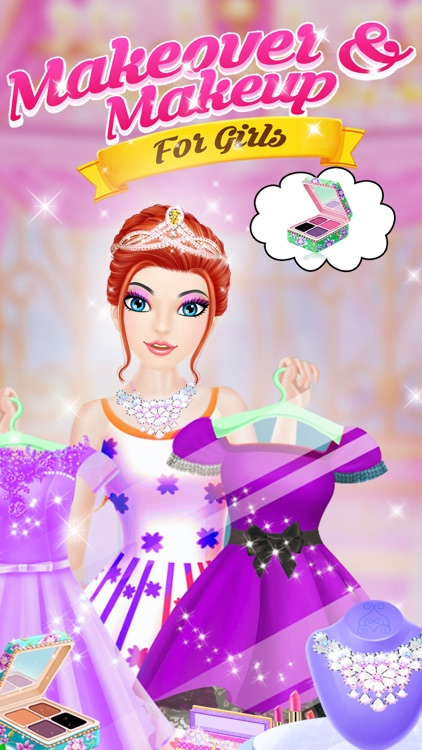 Makeover And Makeup For Girls