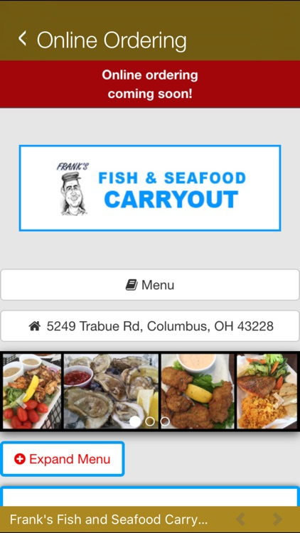 frank s fish and seafood screenshot 4