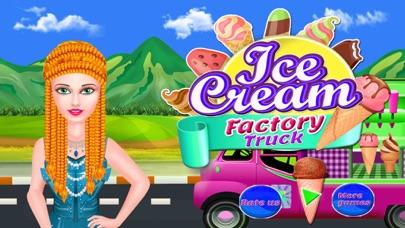 Ice Cream Factory Truck screenshot one