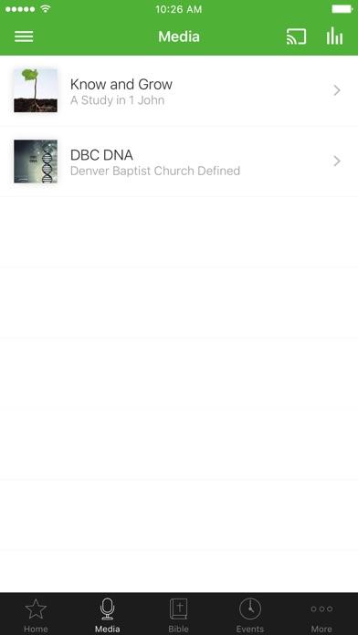 Denver Baptist Church screenshot 2