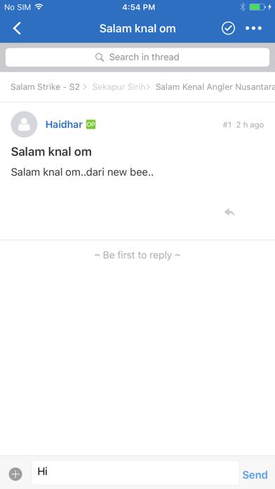 Forum Salam Strike S2 screenshot 2