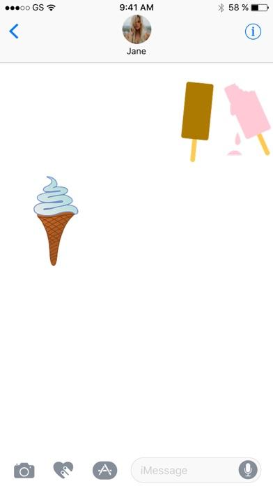 Ice Cream Seven Sticker PackScreenshot von 2