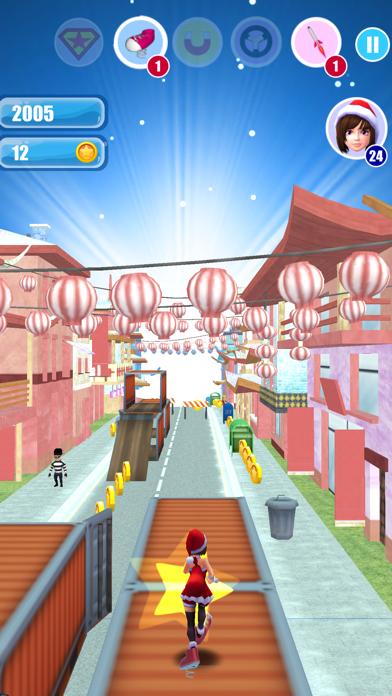 Santa Girl Run Xmas & Advent screenshot two
