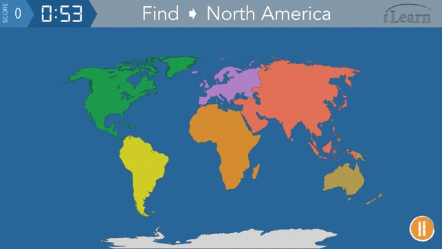 Ilearn continents oceans on the app store gumiabroncs Image collections