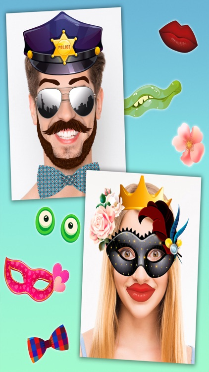 Face effects & funny stickers screenshot-1
