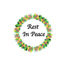 Wreath: R.I.P. stickers by wenpei