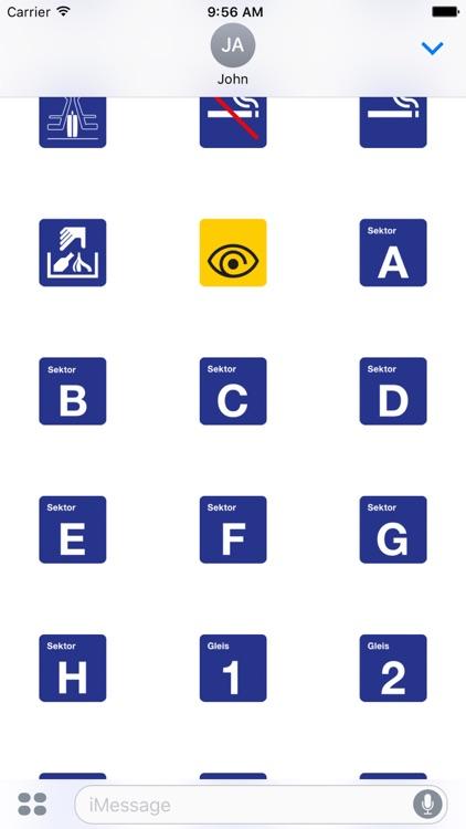 SBB Piktogramme