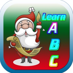 Santa Claus Kids Alphabet ABC Funny Writing