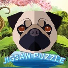 dog quiz jigsaw puzzle games for kids 2 to 7 years icon