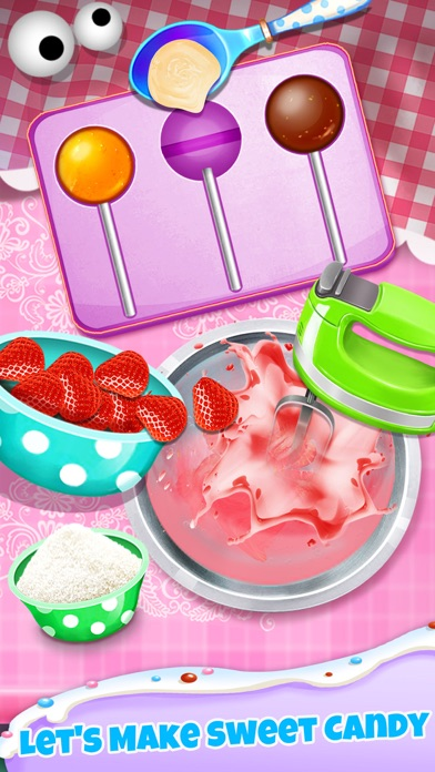 Candy Maker - Sweet Desserts Lollipop Making Games screenshot two