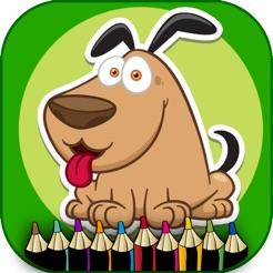 Evcil Hayvanlar Boyama çocuklar Okul öncesi Oyunu App Storeda