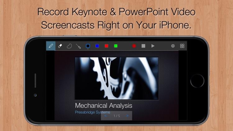Slidecast: Screencast Recorder