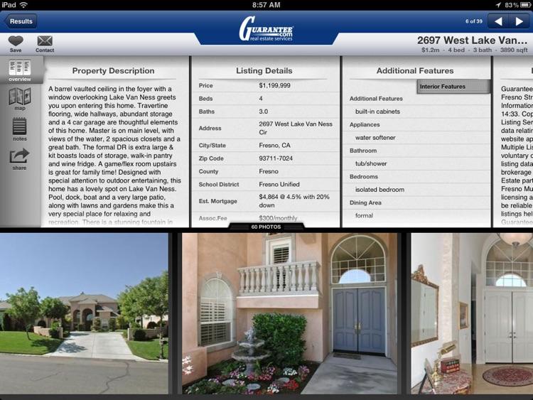 Guarantee Real Estate for iPad