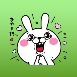 Tina The Sassy Cute Bunny Sticker Vol 1