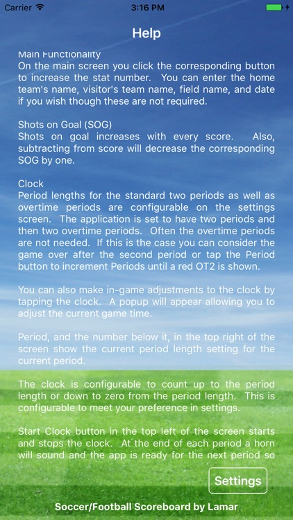 Soccer Football Scoreboard Pro - Game Scorekeeper screenshot-3