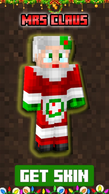 Christmas Skins for - Minecraft: Pocket Edition PE screenshot-3