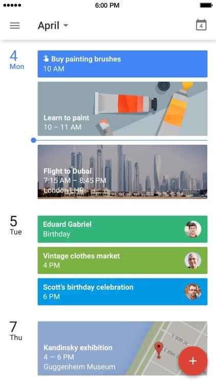 Google Calendar screenshot-0