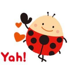 Lovely Ladybug Stickers