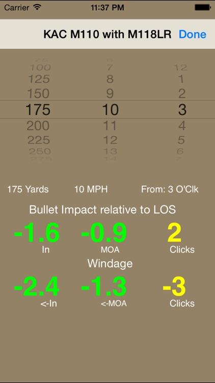 Bullet Flight M