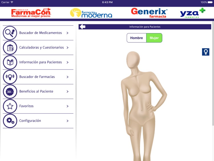 PLM Genéricos for iPad screenshot-3