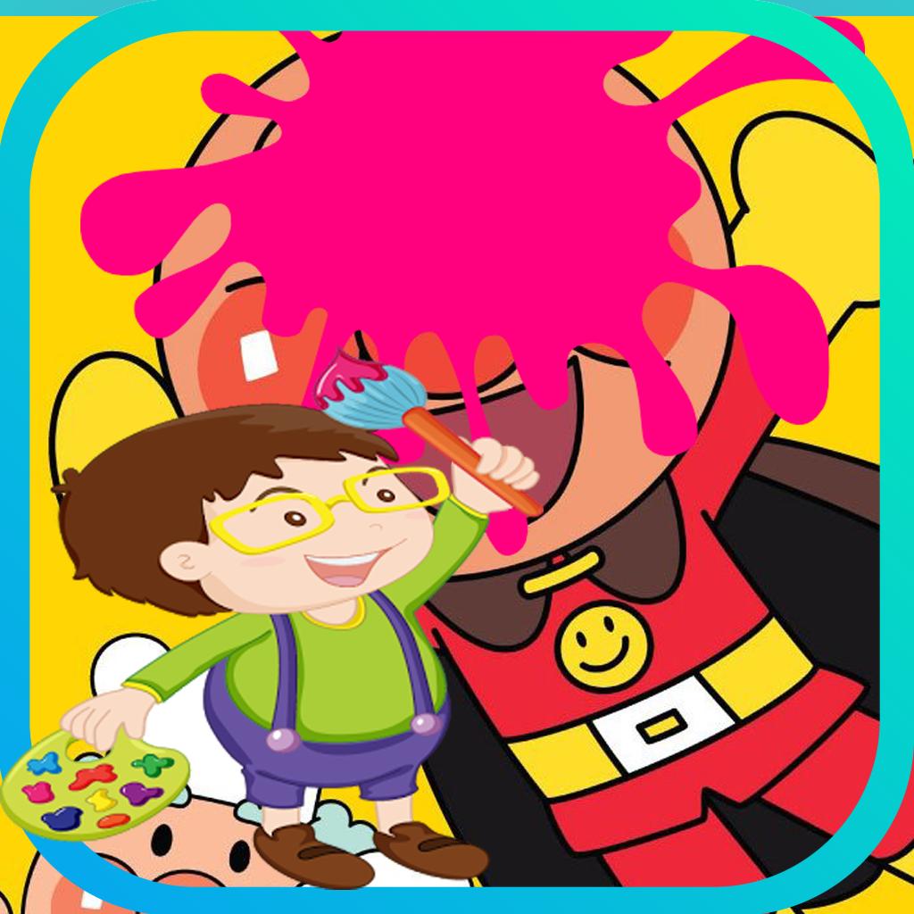 子供のための印刷可能なアンパンマンぬりえページ Iphoneアプリ