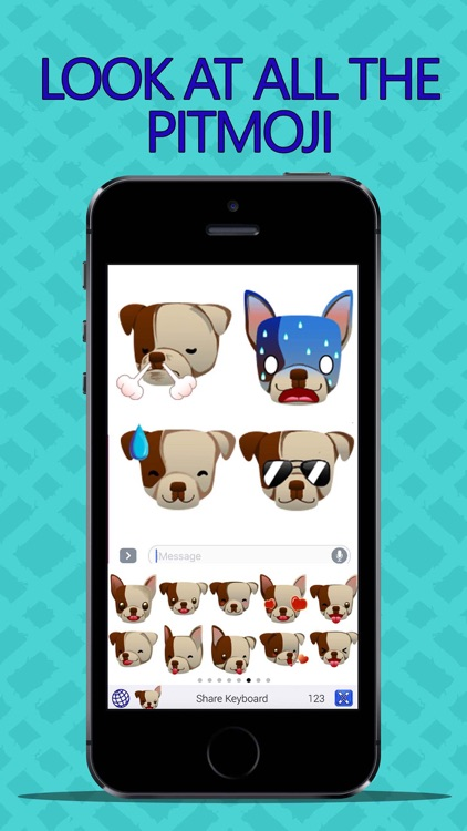 PitMoji - Pit Bull Emoji & Stickers! screenshot-3