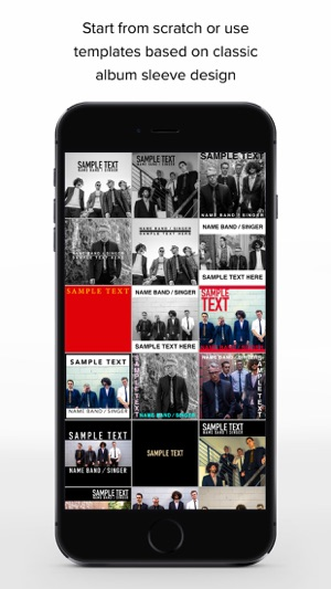 TAD - Music Cover Art Design on the App Store
