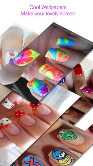 Nail Art Design Wallpapers Nails Backgrounds In De App Store