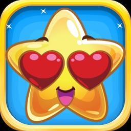 Star Stickers - Beautiful Star Emojis Set