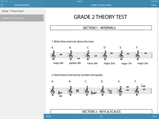 Music Resources - Theory, Worksheets & Flashcards screenshot