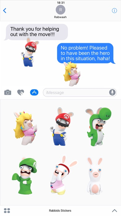 Rabbids Stickers screenshot 1
