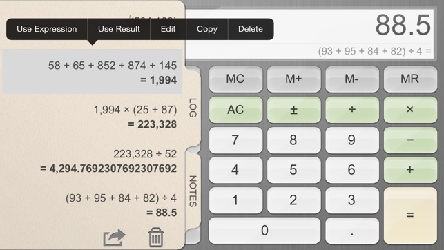 Calculator For Ipad 4