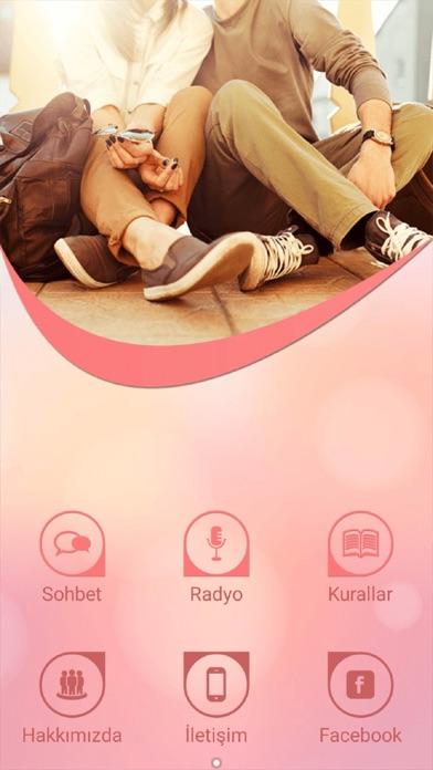 Chat, Sohbet ve Arkadaşlık Screenshot on iOS