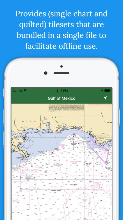 Marine Charts Offline: Gulf of Mexico - East