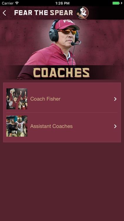 FSU Football Official App screenshot-3