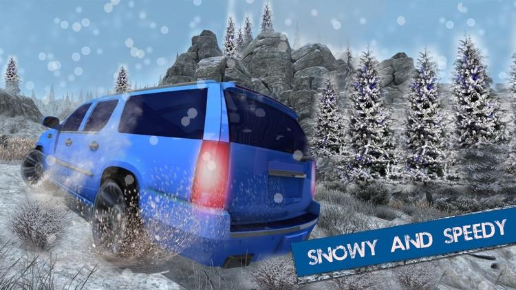 Offroad Escalade Snow Driving – 4x4 Crazy Drive 3D screenshot-4