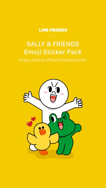 SALLY & FRIENDS Emoji Stickers - LINE FRIENDS screenshot-0
