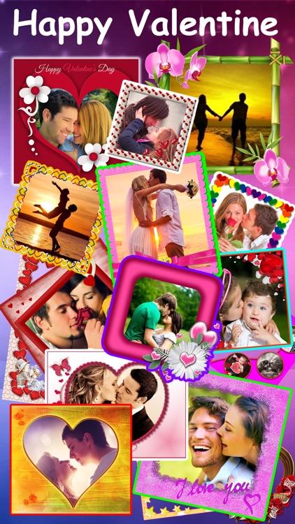 Valentine's Day Photo Collage Editor & Love Frames